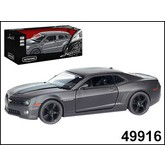 "МАШИНА ""AUTOTIME"" CHEVROLET CAMARO IMPERIAL BLACK EDITION 5"" МАТОВАЯ 1:32"
