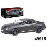"МАШИНА ""AUTOTIME"" BENTLEY CONTINENTAL GT V8 IMPERIAL BLACK EDITION 5"" МАТОВАЯ 1:32"